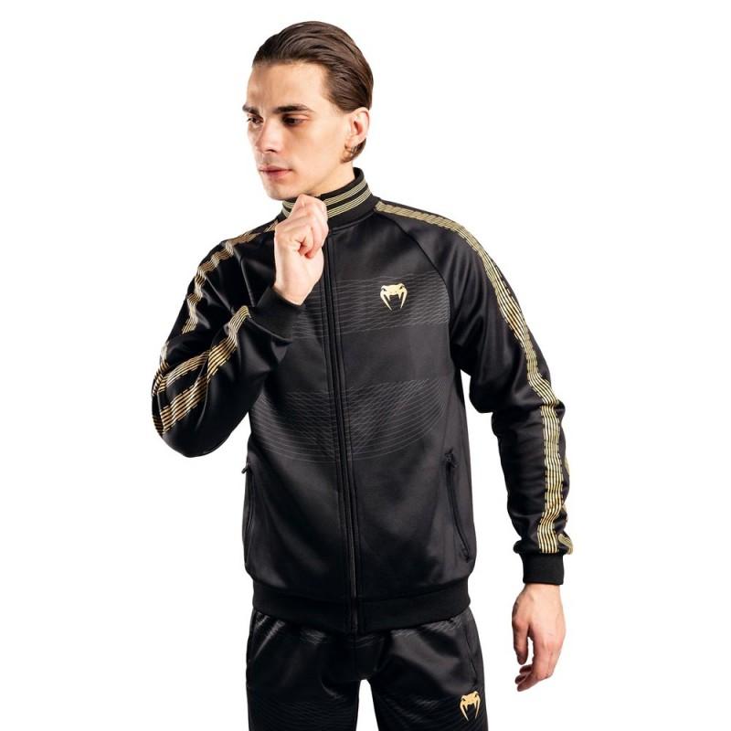 Venum Club 182 Trainings Jacke schwarz gold