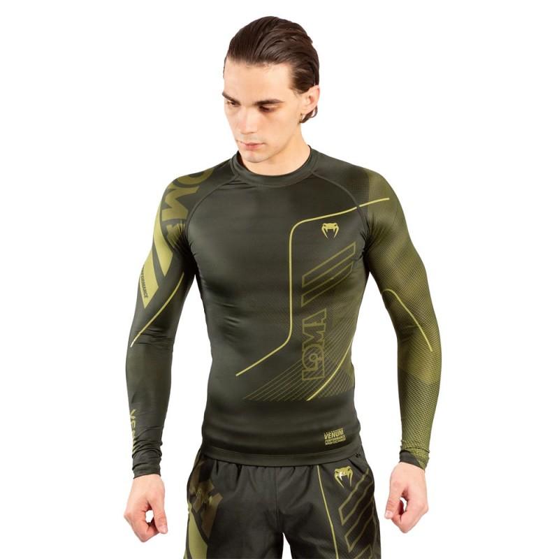 Venum Loma Commando Rashguard LS Khaki