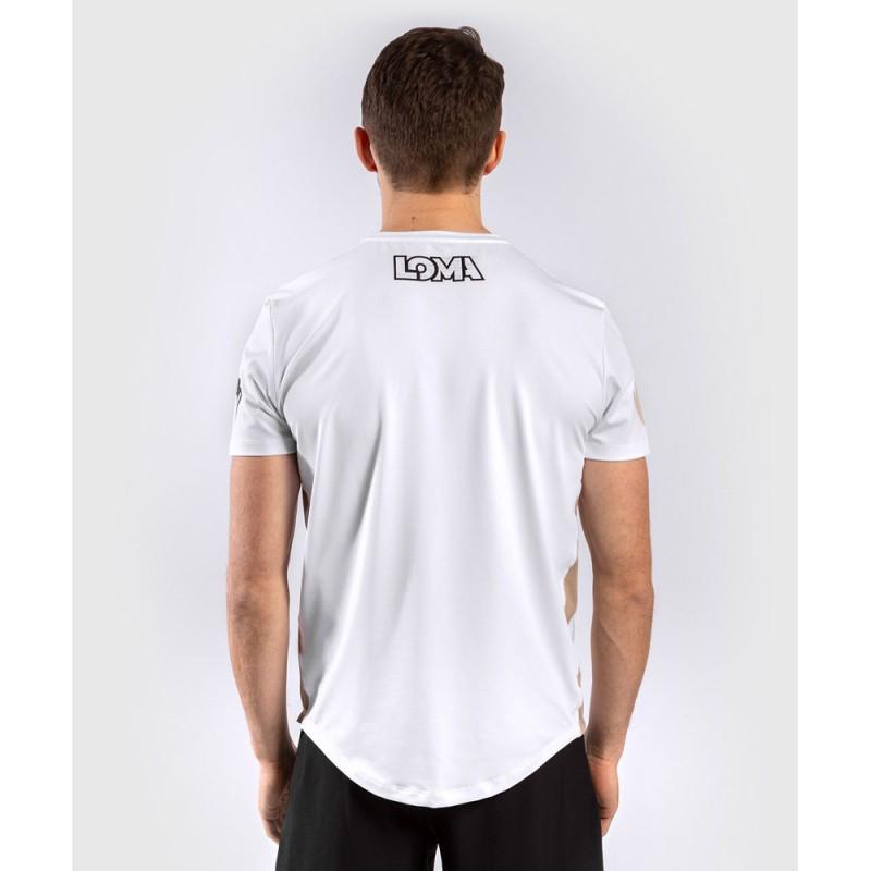 Venum Loma Edition Origins Dry Tech Shirt weiss schwarz