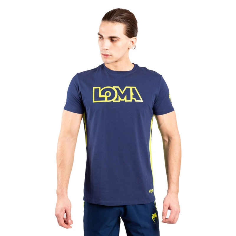 Venum Loma Edition Origins T-Shirt blau gelb