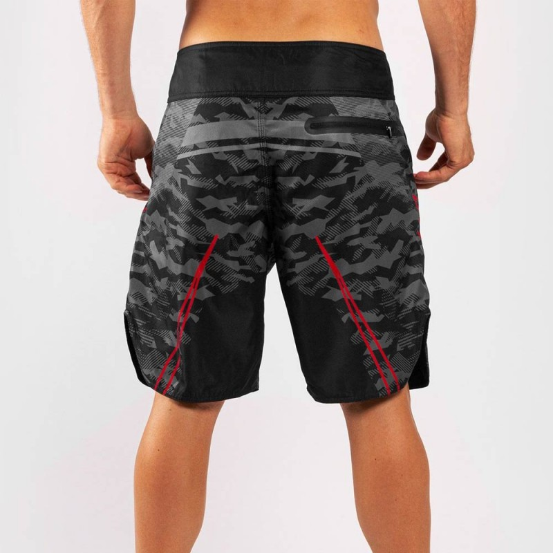 Venum Trooper Boardshorts schwarz rot