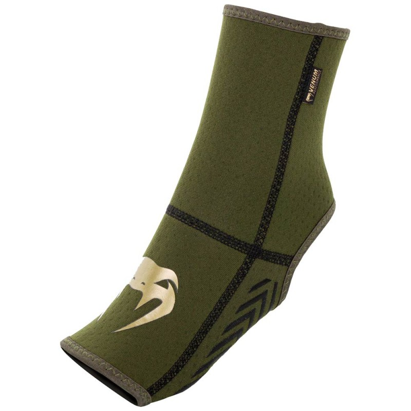 Venum Kontact EVO Foot Grips khaki gold