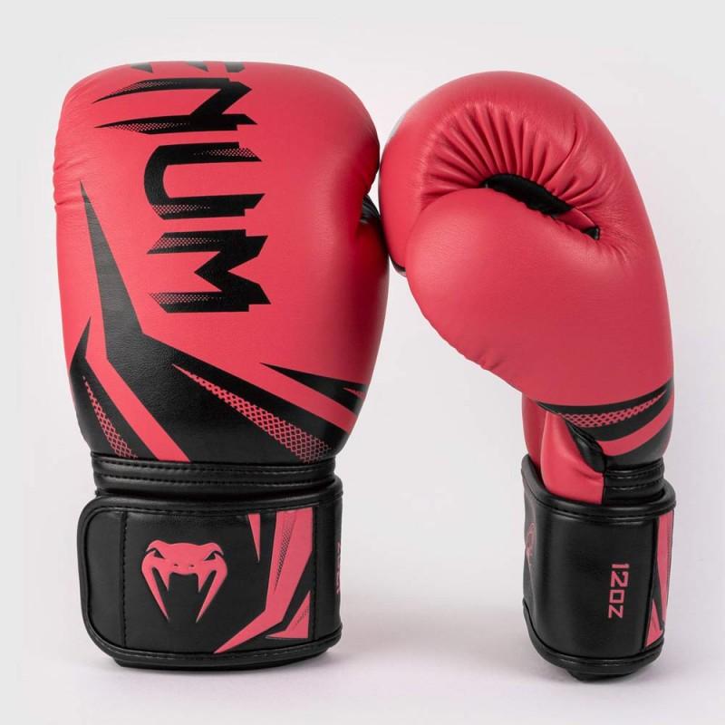 Venum Challenger 3.0 Boxhandschuh rosa schwarz