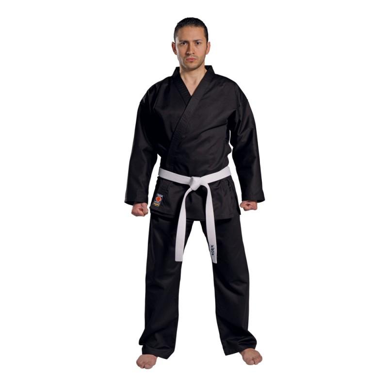 kwon traditional karate anzug schwarz 8oz g nstig kaufen boxhaus. Black Bedroom Furniture Sets. Home Design Ideas