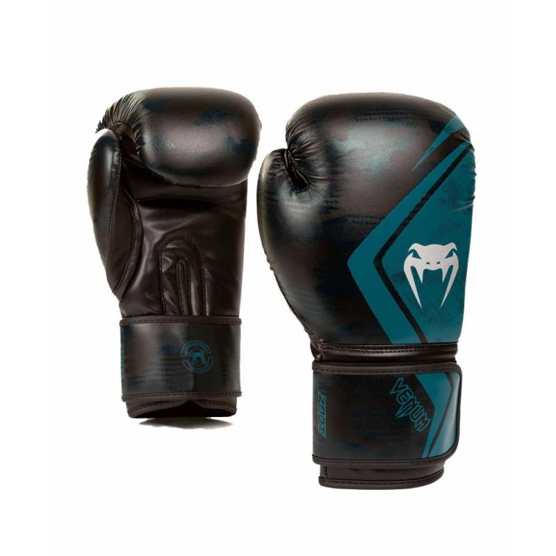 Venum Contender 2.0 Boxhandschuh Defender schwarz grün
