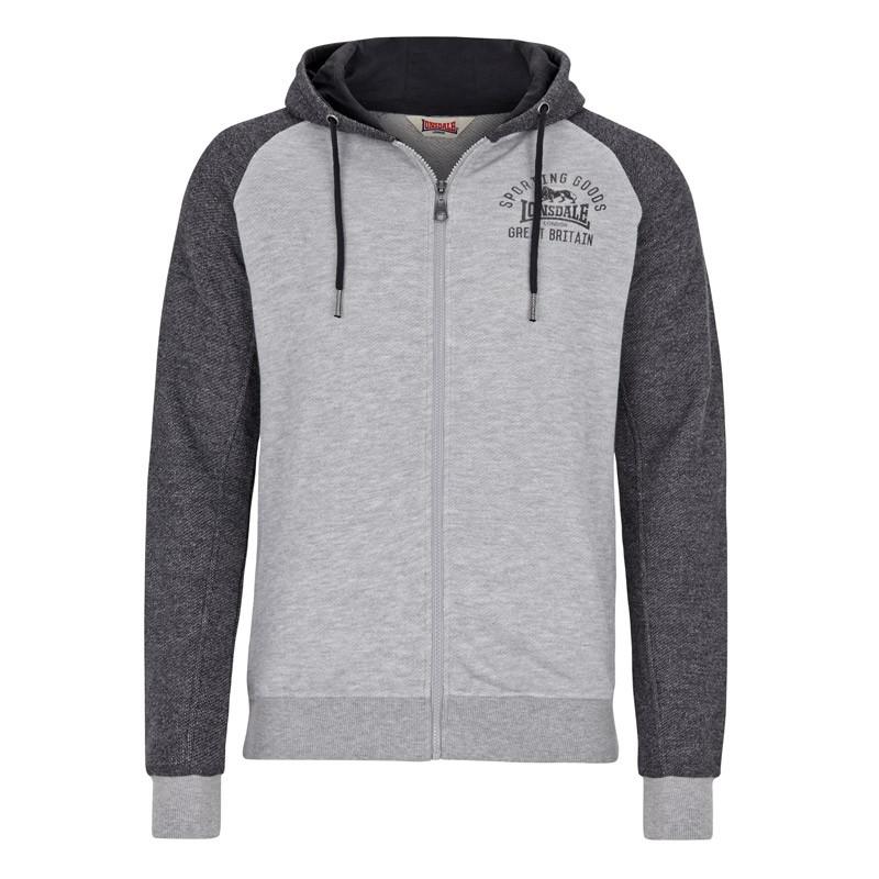 Lonsdale Reaster Herren Zip Sweater
