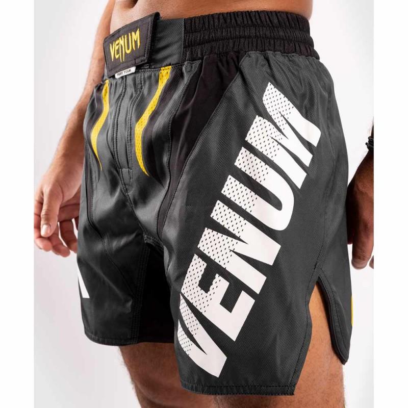 Venum One FC Impact Fightshorts Grey Yellow