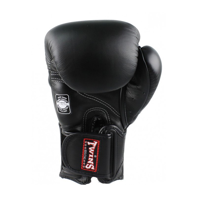 Twins BGVL 6 Boxing Gloves Black Leather
