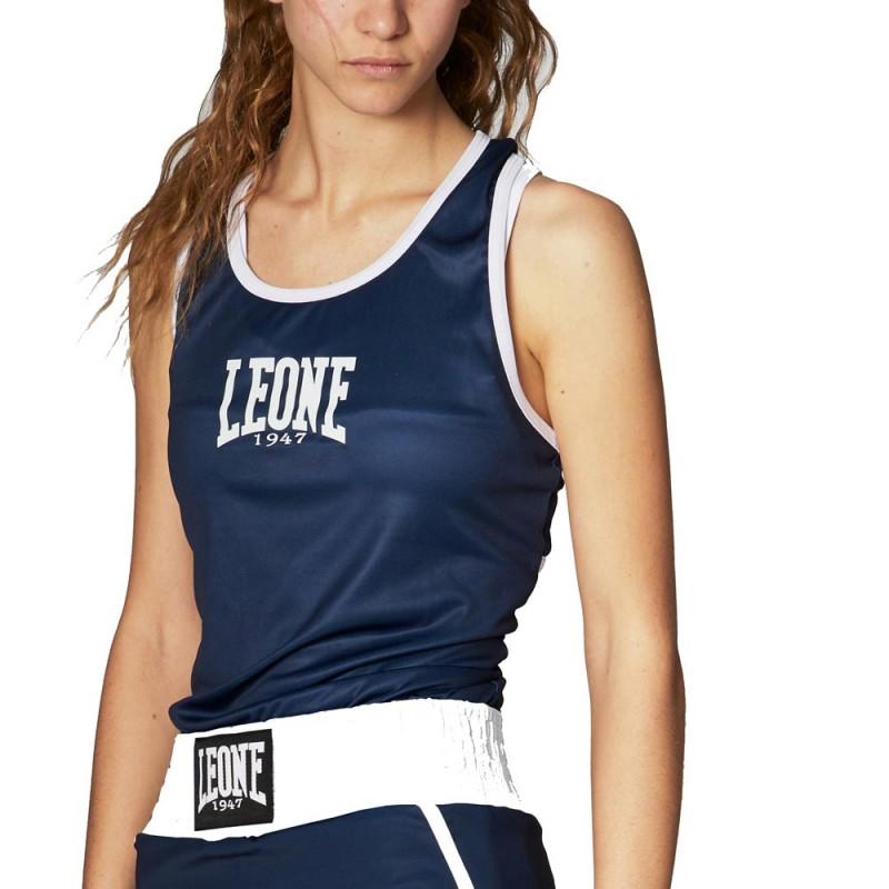 Leone 1947 Boxhemd Frauen Match blau