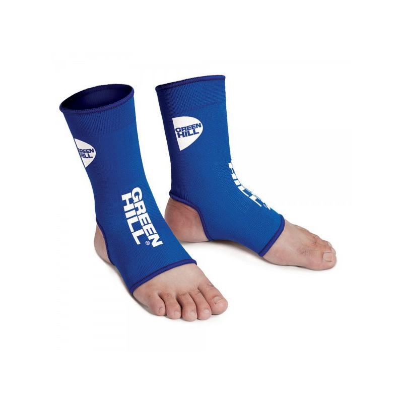 Green Hill Elastic Ankle Guards Blau
