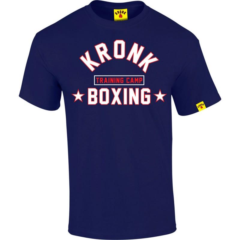 Kronk Boxing Training Camp T-Shirt Navy