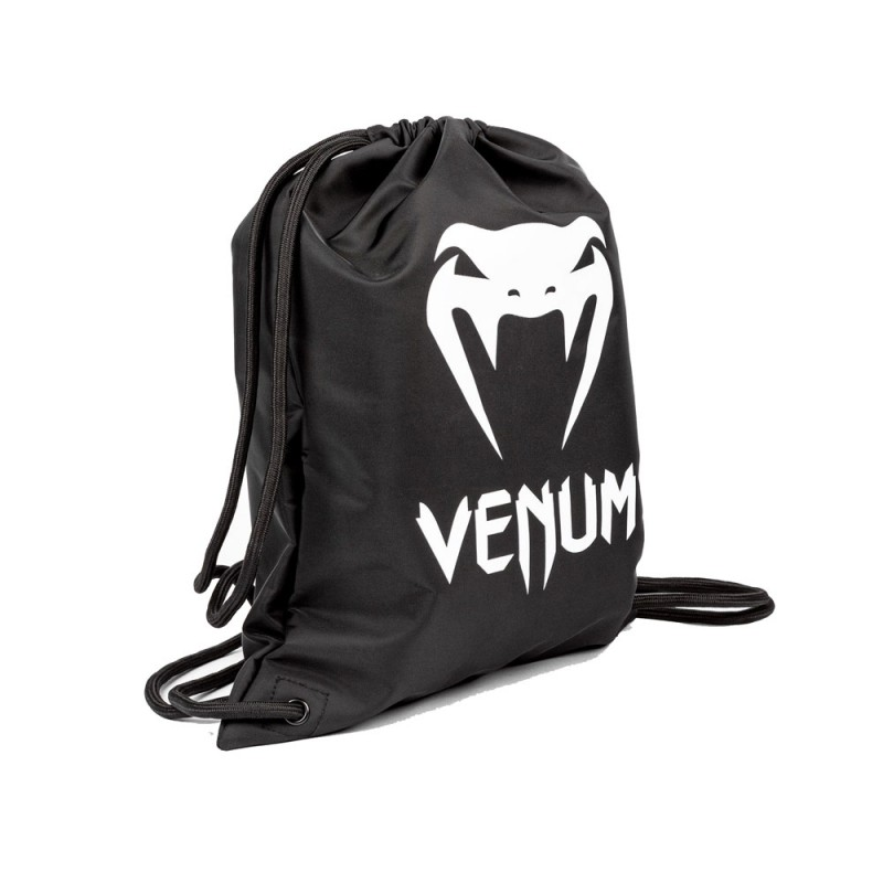 Venum Classic Drawstring Bag Black White