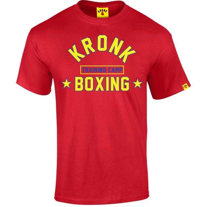 Kronk Boxing Training Camp T-Shirt Red