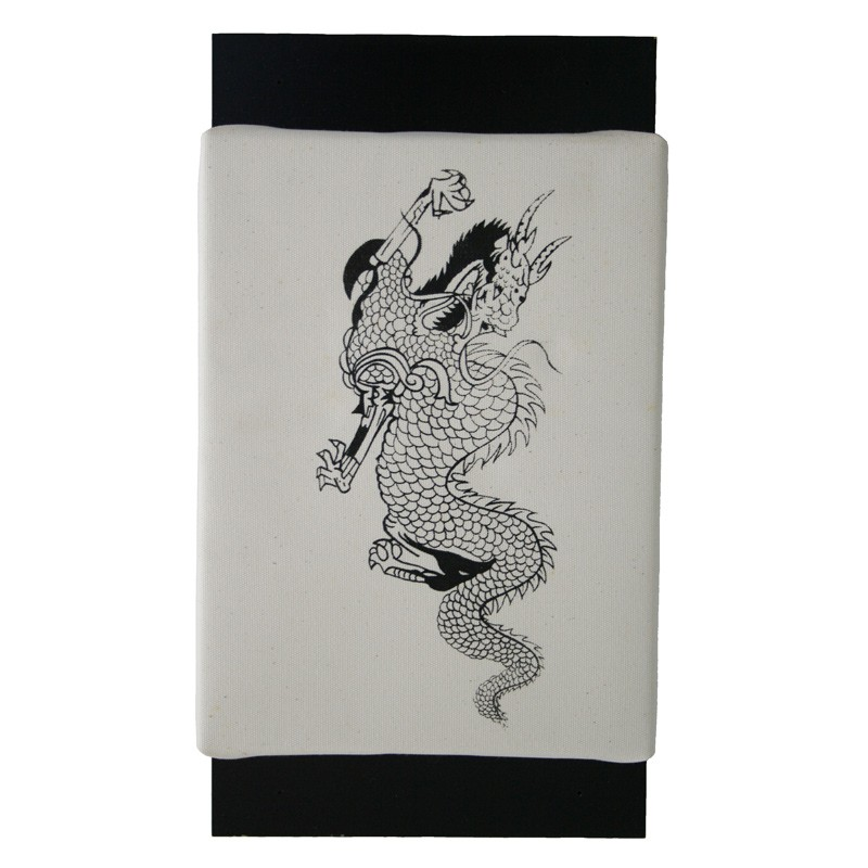 Dax Holz Makiwara Karate Canvas Bezug Klein