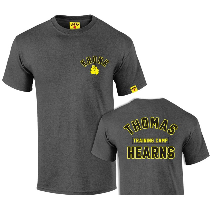Kronk Boxing Thomas Hearns Trainings Camp T-Shirt Charcoal Mel.