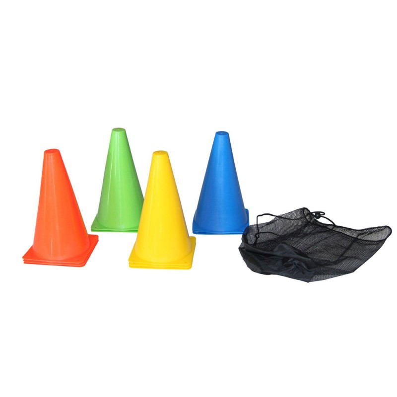 Abverkauf Tunturi Training Cone Set 10Stk. 23cm