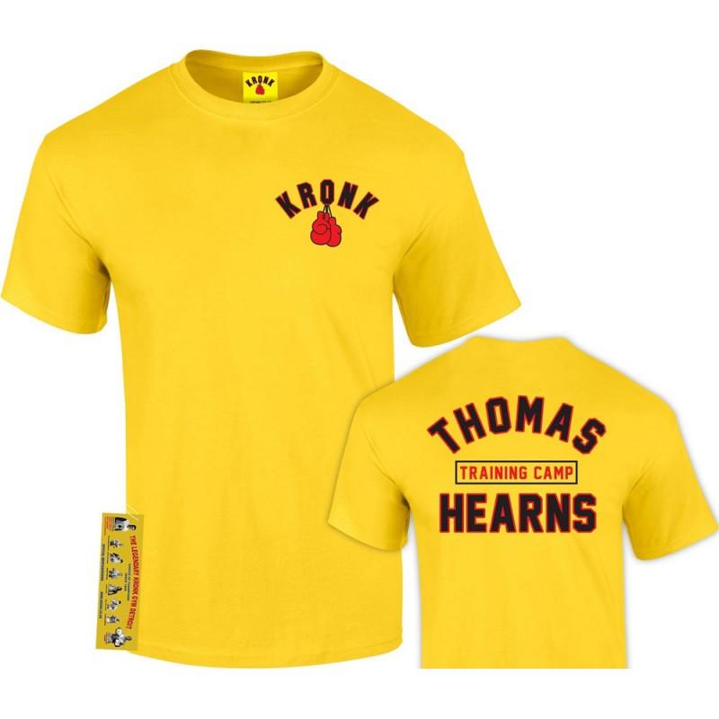 Kronk Boxing Thomas Hearns Trainings Camp T-Shirt Yellow