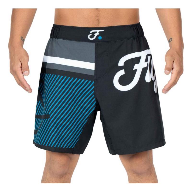 Fuji Script Grappling Shorts Blue