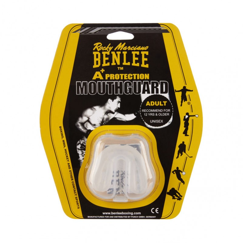 Benlee Breath Thermoplastic Zahnschutz Transparent