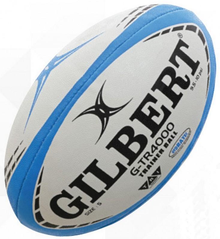Gilbert Rugby Ball G TR4000 Blue Gr. 4