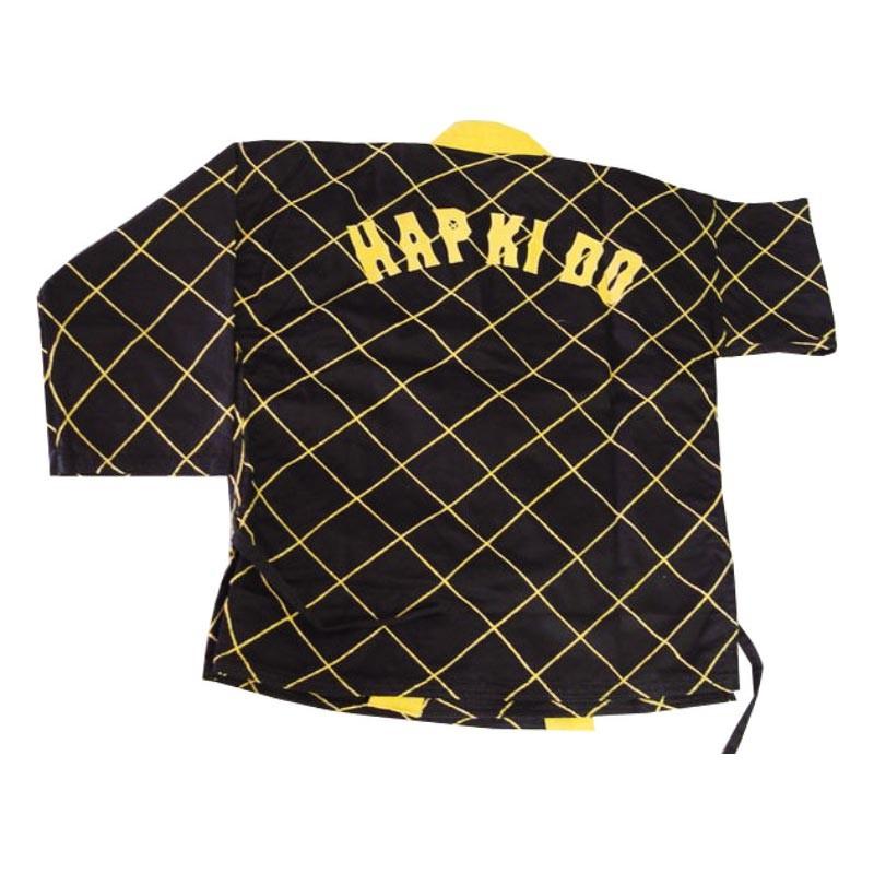 Hapkido Jacke Schwarz Gelb