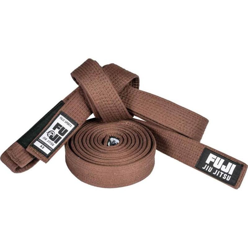 Fuji Premium Pearl Weave BJJ Belt Brown