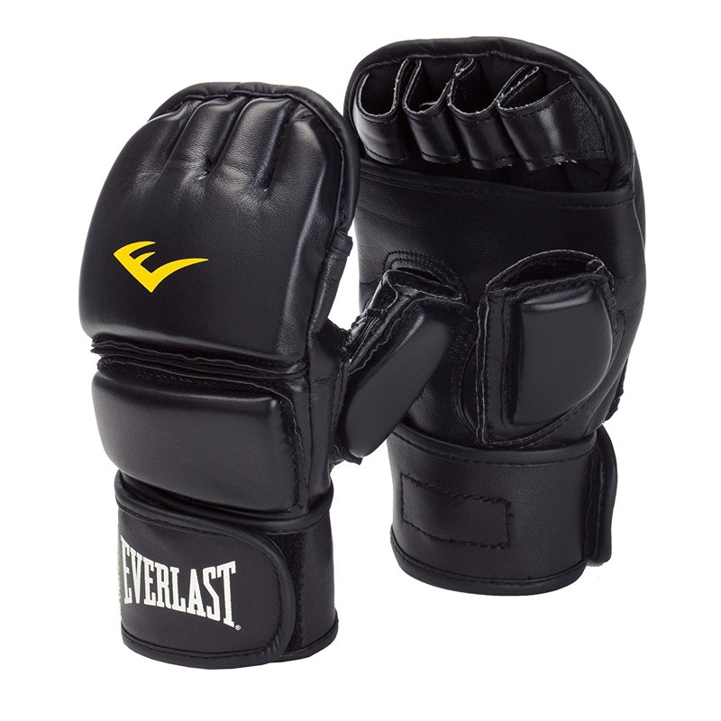 Everlast Martial Art Closed Thumb Glove Black 7562