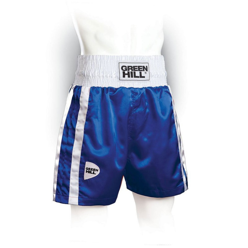 Green Hill Elite Boxing Shorts Blau