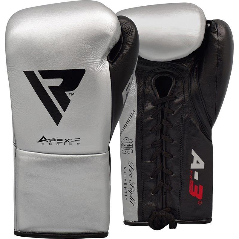 RDX Boxhandschuh Leder Pro FA3 silber