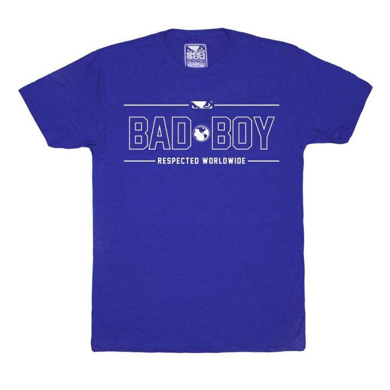 Abverkauf Bad Boy International Contender T-Shirt Blue