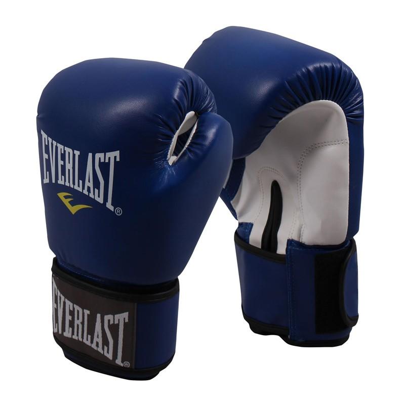 Abverkauf Everlast Thai Boxing Gloves Blue 811206PU