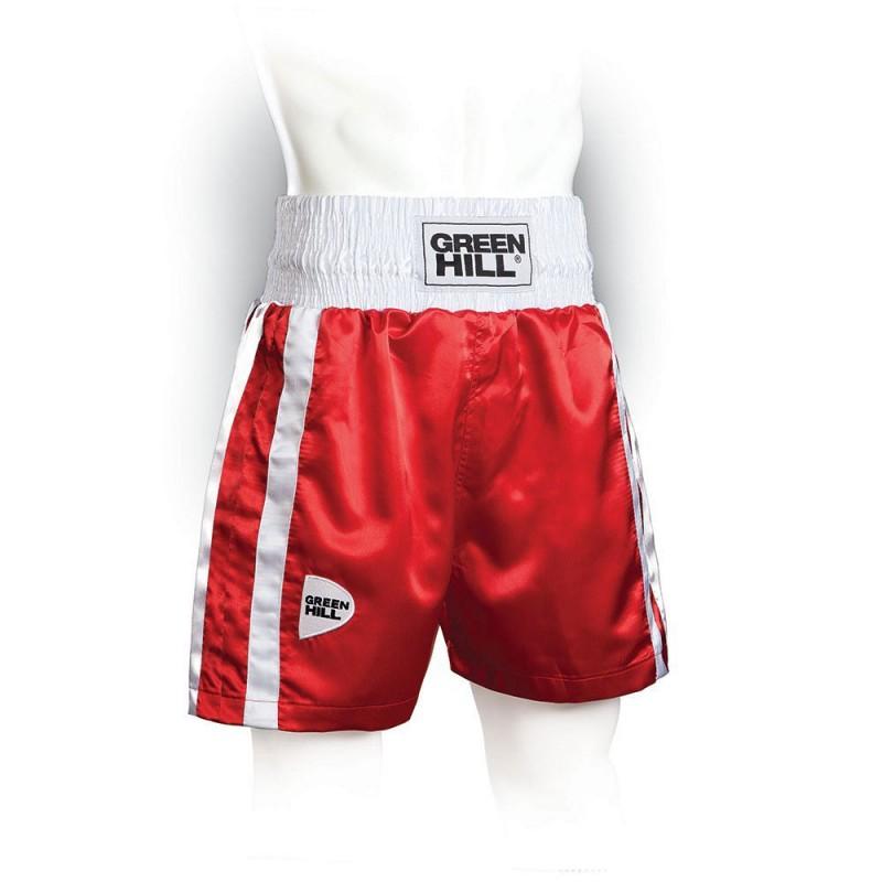 Green Hill Elite Boxing Shorts Rot