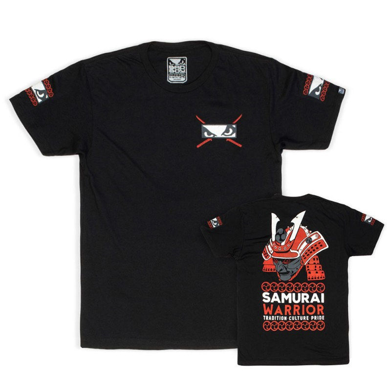 Abverkauf Bad Boy Samurai Warrior T-Shirt Black