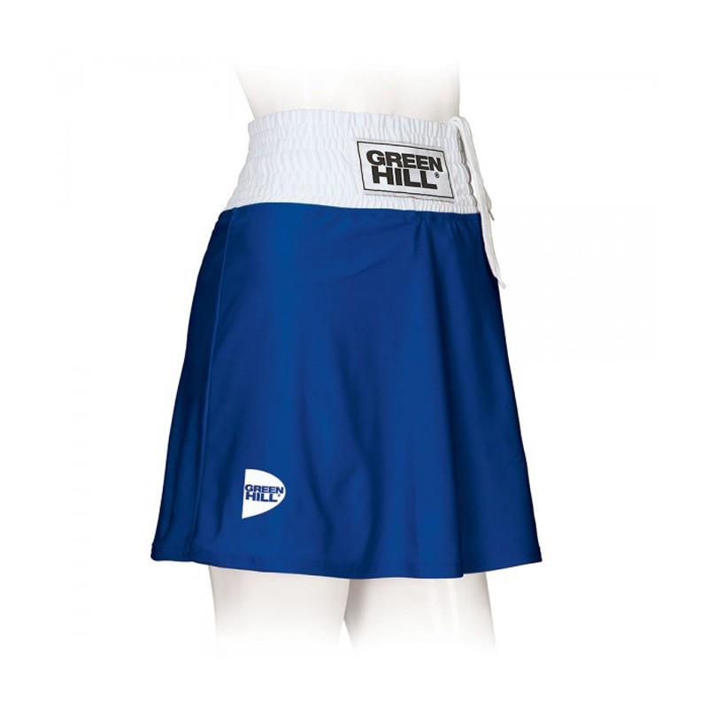 Green Hill Athena Boxing Skirt Blau