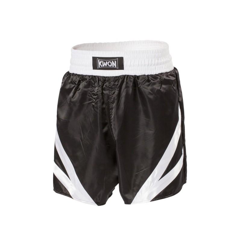 Kwon Thaibox Hose schwarz weiss