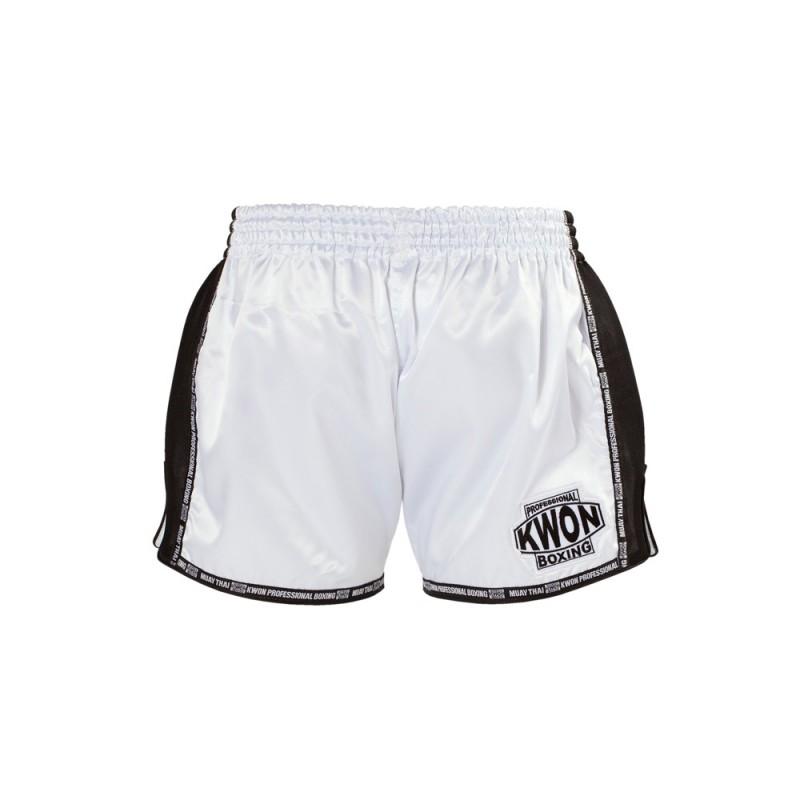 Kwon Evolution  Muay Thai Boxshort weiss