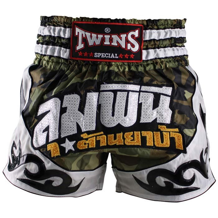 Twins Fancy Thaiboxing Fightshorts TTBL 78