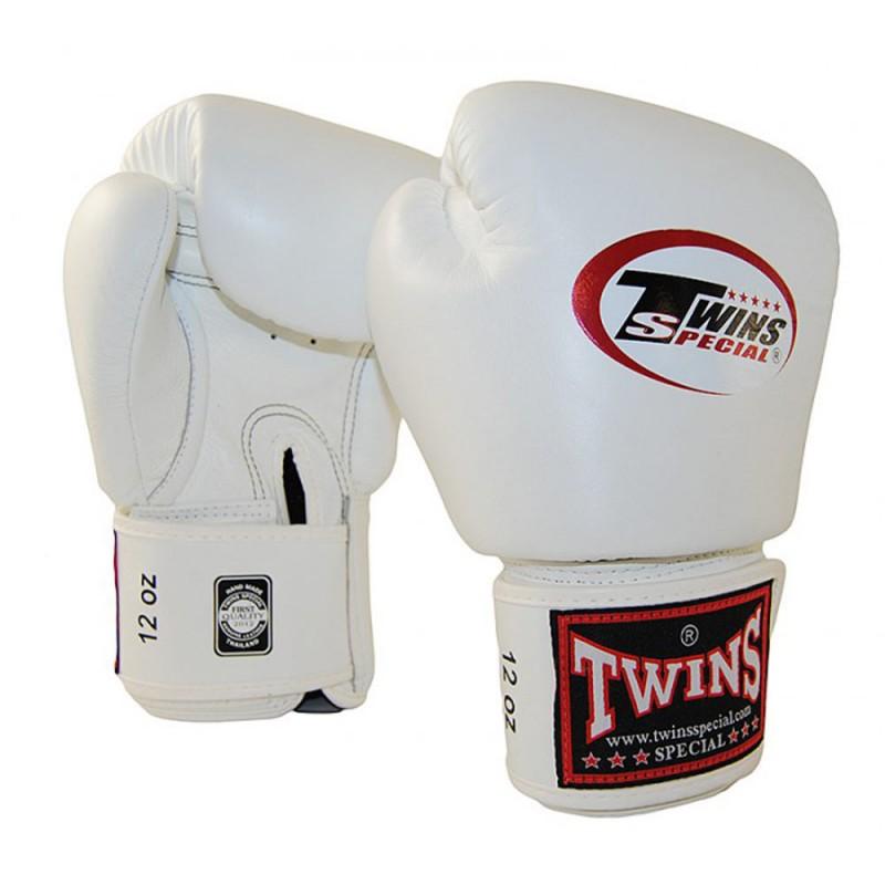 Twins BGVL 3 White Boxhandschuhe Leder