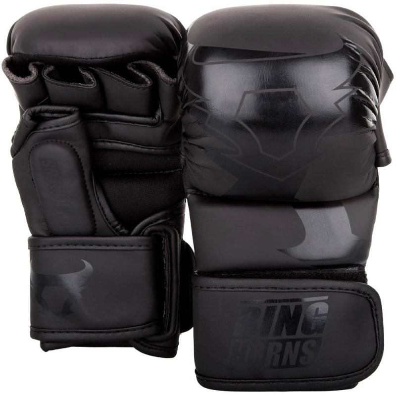 Ringhorns Charger Sparring Gloves Black Black