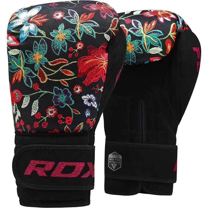 RDX Boxhandschuh Floral FL-3 schwarz