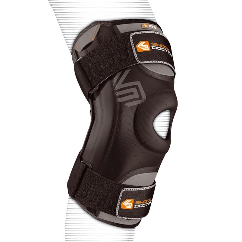Abverkauf Shock Doctor Knee Stabilizer 870 flexible Stützschienen