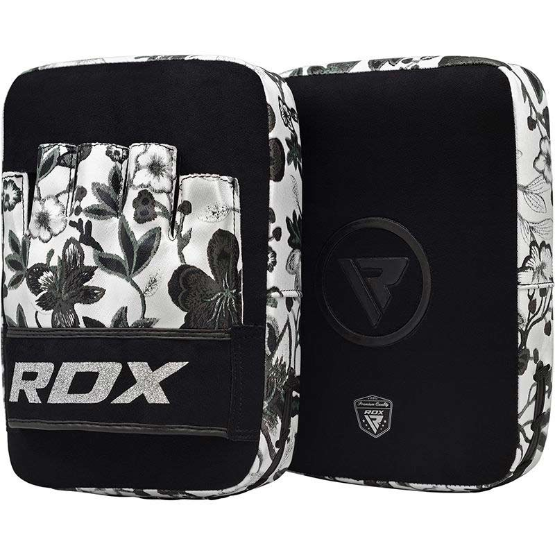 RDX Focus Pads Floral weiss