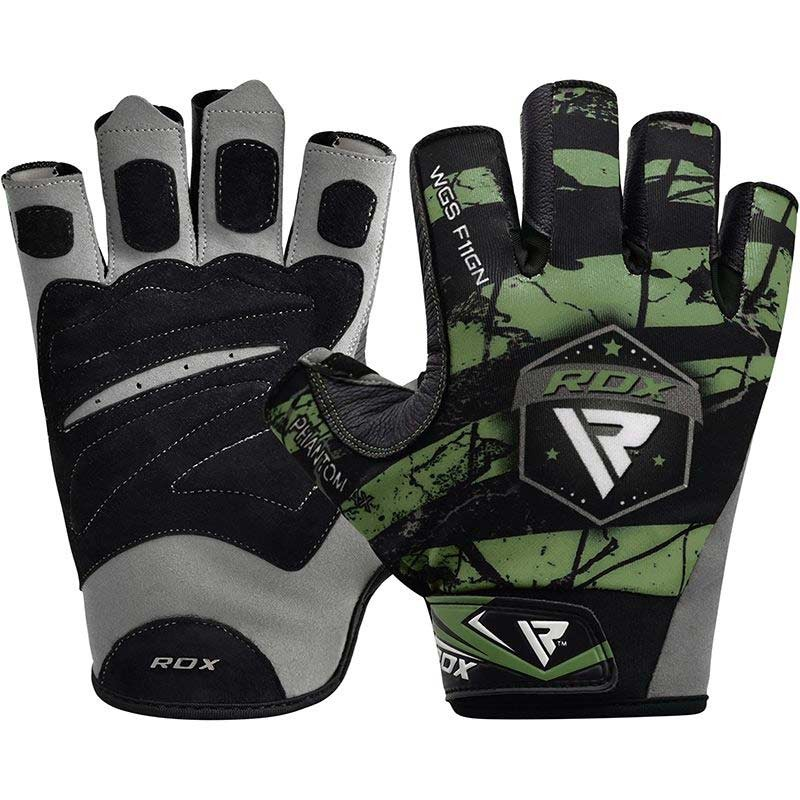 RDX Gym Handschuh Sublimation F11 grün