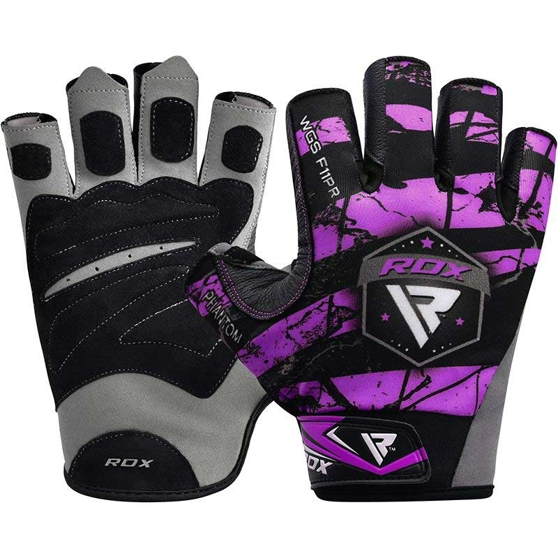 RDX Gym Handschuh Sublimation F11 lila