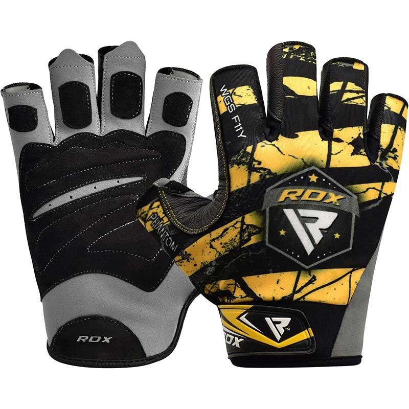 RDX Gym Handschuh Sublimation F11 gelb