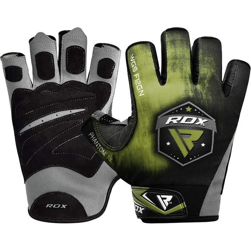 RDX Gym Handschuh Sublimation F12 grün