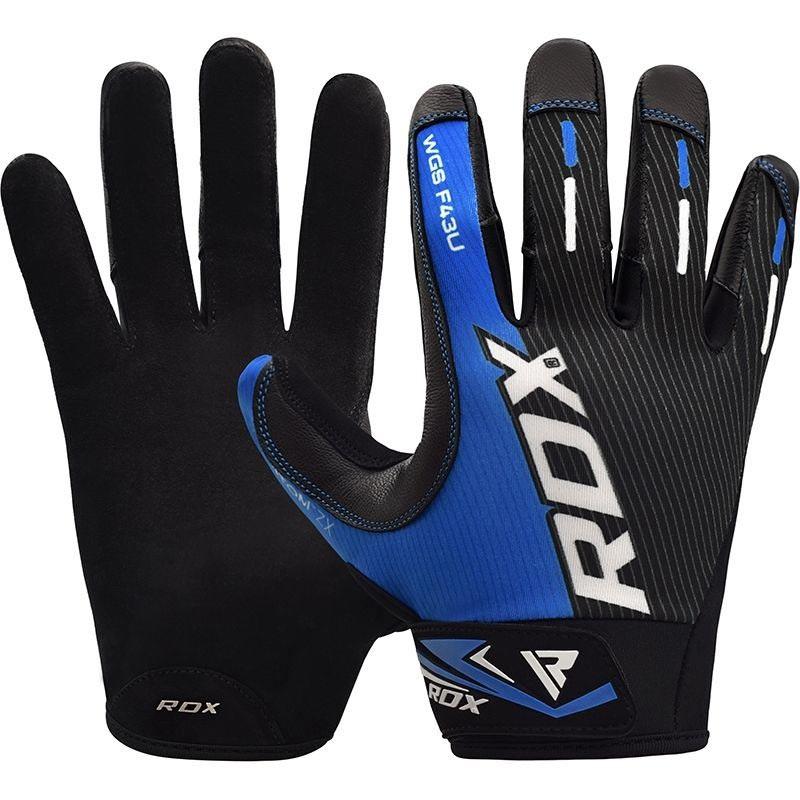 RDX Gym Handschuh Sublimation F43 blau