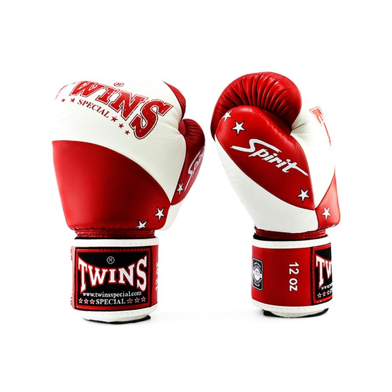 Twins BGVL 10 Boxhandschuhe White Red