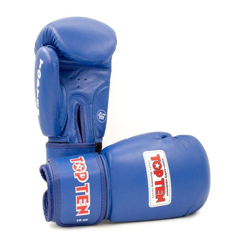 Top Ten AIBA Boxhandschuhe Blau