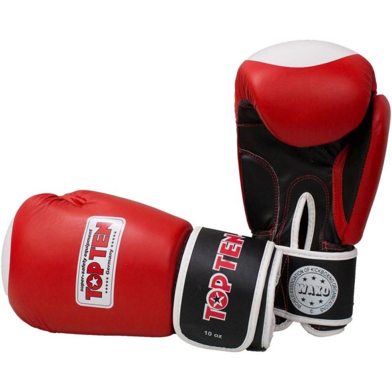 Top Ten WAKO Boxhandschuhe Rot 10oz
